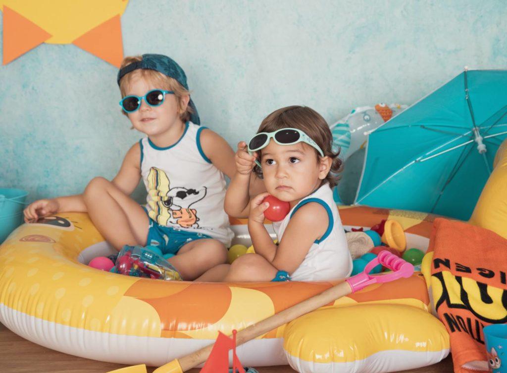 Sesión de estudio infantil de verano. Books de verano infantiles